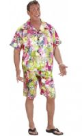 Hawaiian Man Costume (2852)